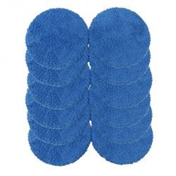 Чистящие салфетки для робота-мойщика окон  Hobot-188, 198  (комплект из 12 шт. цвет синий) - фото 4825