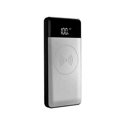 Внешний аккумулятор с беспроводной зарядкой HOOX AURA 10000 - фото 5764