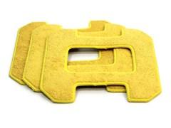Чистящие салфетки для робота-мойщика окон HOBOT-268/288, желтые для влажной уборки (3 шт.)
